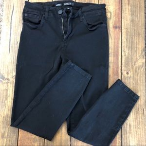 Super stretch black jeans